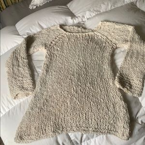 Free people knit sweater in good condition